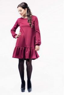 Платье Budapest Бордо для беременных и кормления