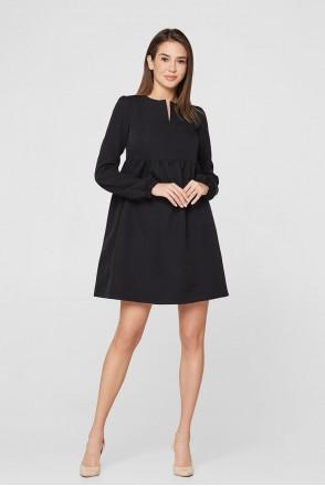 Платье Genoa черный для беременных и кормления