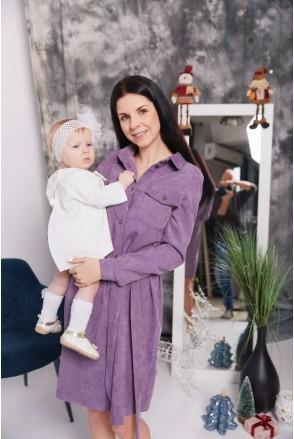 Сукня Philadelphia бузковий для вагітних та годування