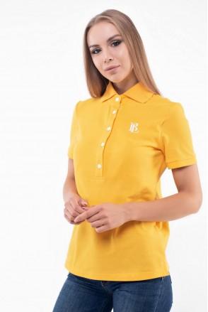 Футболка Polo Oxford Жовтий для годування