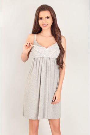 Ночная рубашка 3043 для беременных и кормления