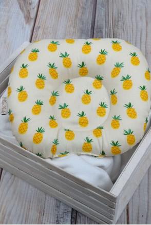 """Детская подушка для новорожденных """"Ананас"""""""