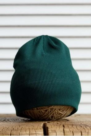 Шапка Tabby темно-зеленая