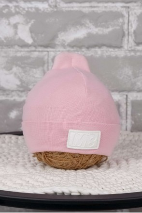 Шапка MB розовая
