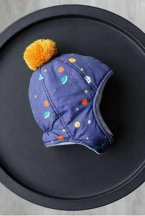 Шапка Аляска космос