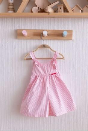 Кюлоты Emily бело-розовая полоска