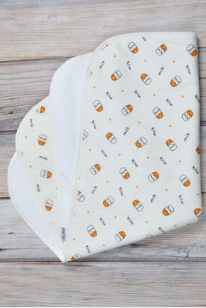 Непромокаемая пеленка 60х80 Milk small