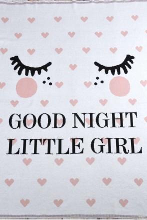 "Плед ""Good night"" рожевий"