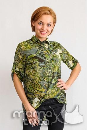 Блуза Аглая МАГИЧЕСКИЙ ЛЕС 182.1 для беременных и кормящих