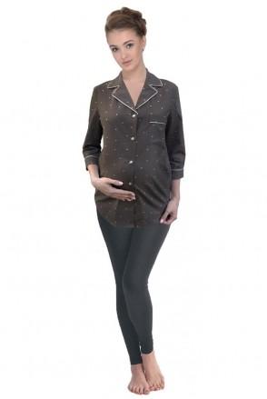Пижама Candy Nut leggings арт. 24139 для беременных и кормящих мам