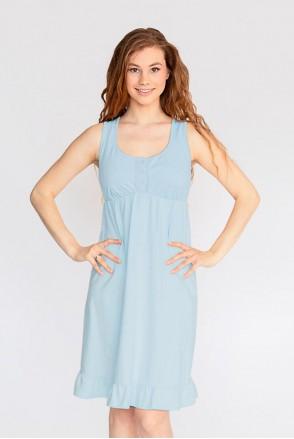 Ночная рубашка HONEY арт. 24140 Blue для беременных и кормящих