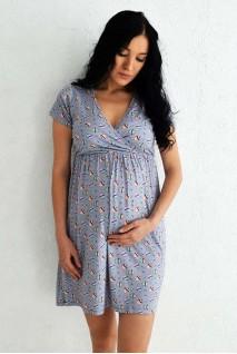 """Сорочка """"Сладкоежка"""" для беременных и кормящих"""
