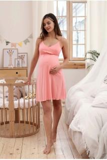 Ночная рубашка Mirelle (коралл) для беременных и кормящих мам