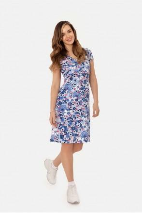 Трикотажное платье blue для беременных и кормления