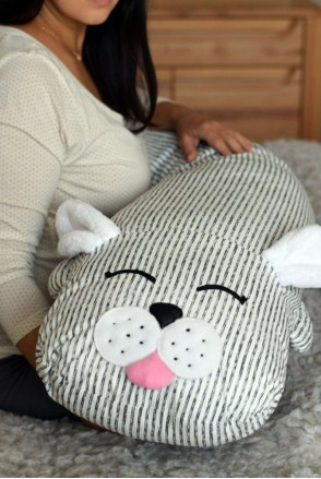 Подушка-комфортер для вагітних і годування Зайчик