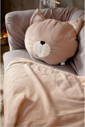 """Комплект плед + подушка """"Кошка"""""""