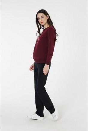 Спортивные брюки 4051350 черные для беременных