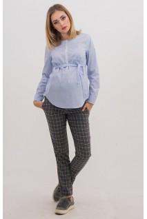 Брюки 1153268-2 серый для беременных