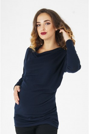 Джемпер для беременных 4035647 темно - синий