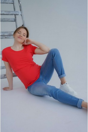 Джинси 3069461-11 сіро-блакитний варка 1 для вагітних