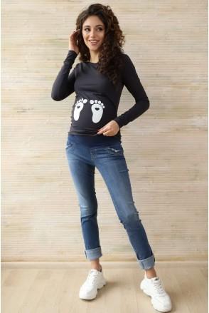 Джинси арт. 774462-5 денім для вагітних