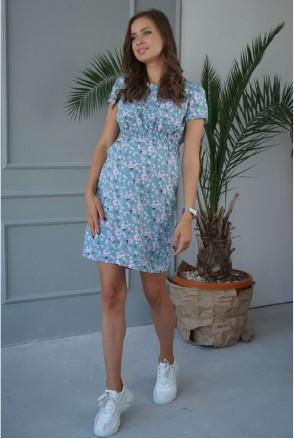 Платье 3178725 оливковый для беременных и кормления