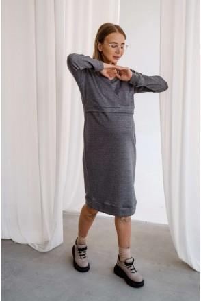 Платье 3138646 туман гавани для беременных и кормления