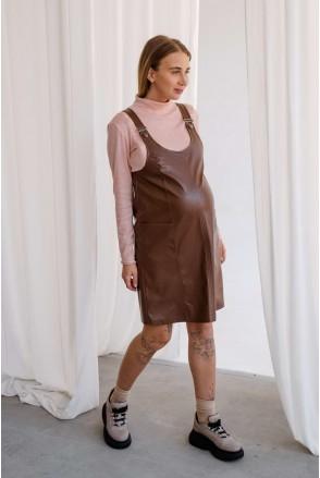Сарафан 4272216 коричневый для беременных