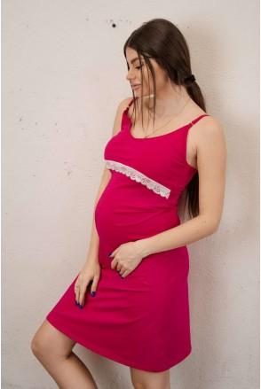 Сорочка 3059041 малинова для вагітних і годування