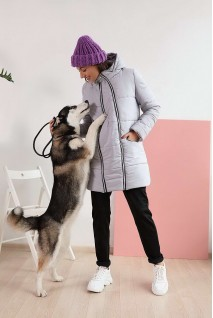 Зимняя куртка арт. 3044274 туман гавани для беременных