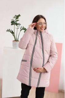 Зимняя куртка арт. 3044274 пудра для беременных