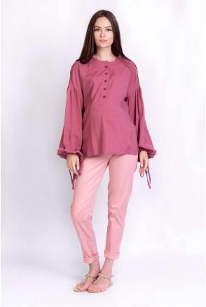 Блуза RUSTIC темно-розовый для беременных и кормящих