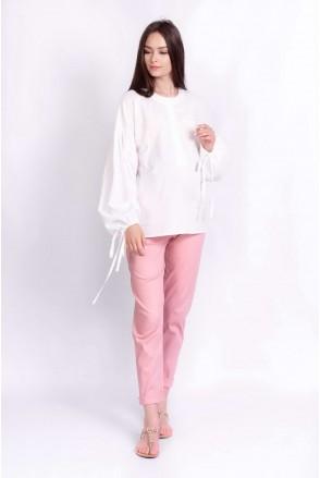 Блуза RUSTIC молочный для беременных и кормящих