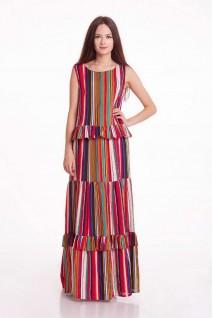 Платье CHILI (Полоска) для беременных
