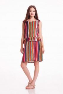 Платье CHILI MINI (Полоска) для беременных