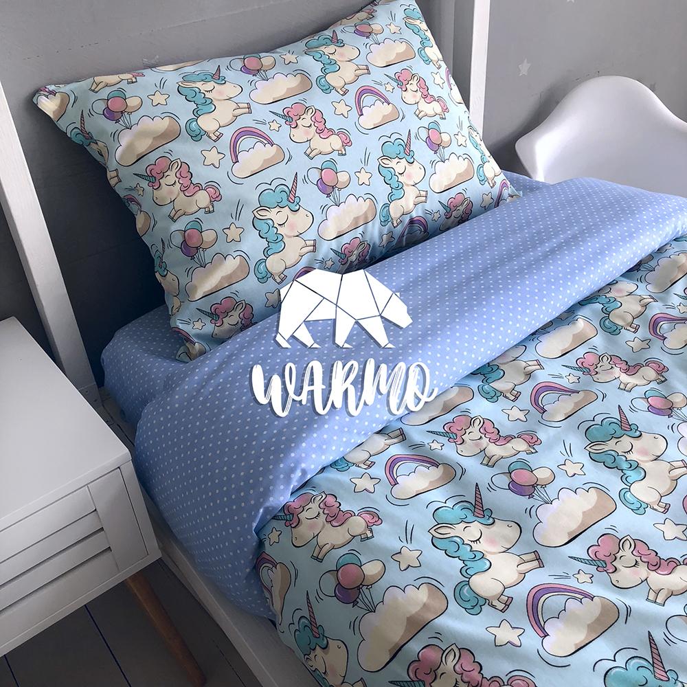 Комплект дитячої постільної білизни Warmo