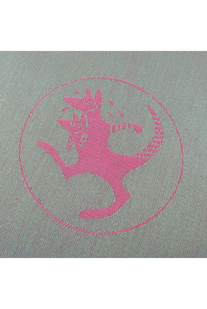 Слінг-шарф Kanga funky pink