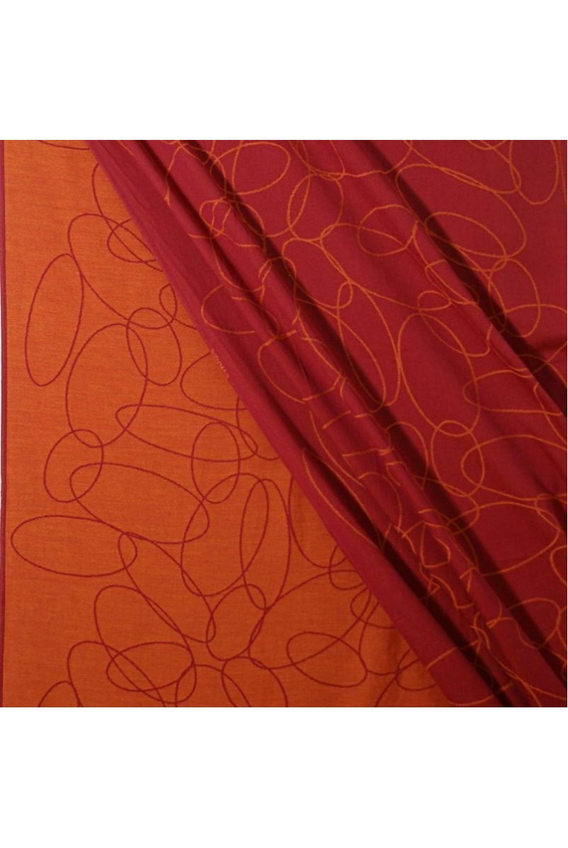 Слінг-шарф Ellipsen rubin-mandarine