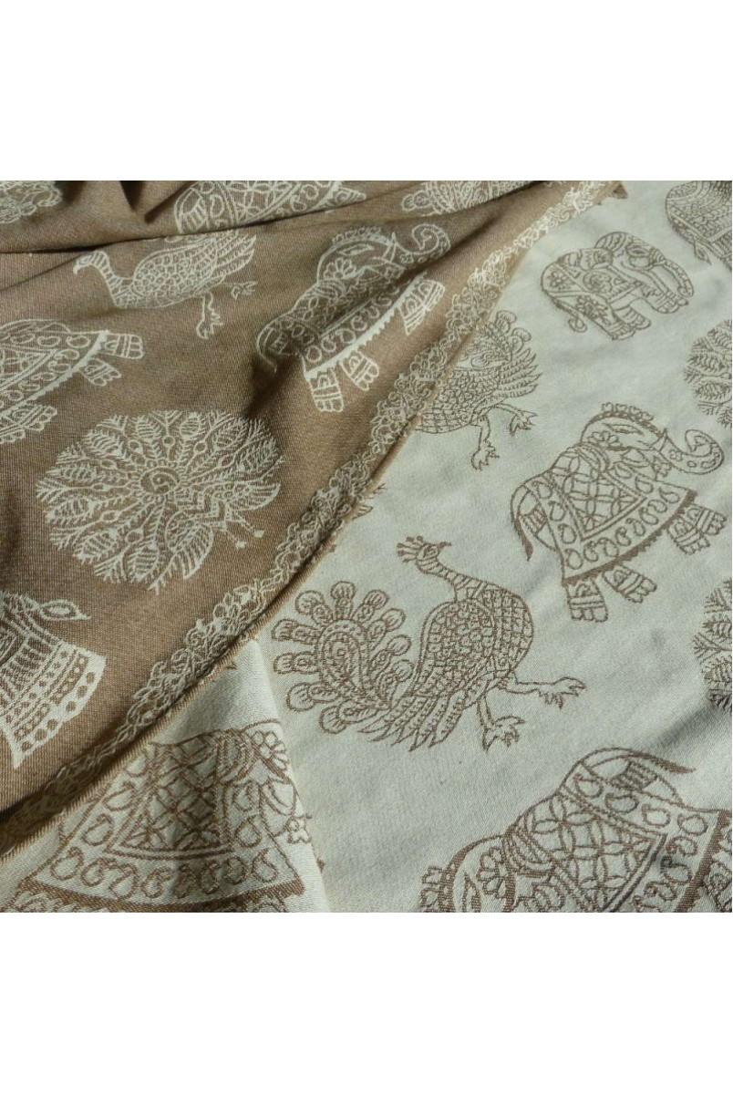 Слінг-шарф India Cashmere-braun