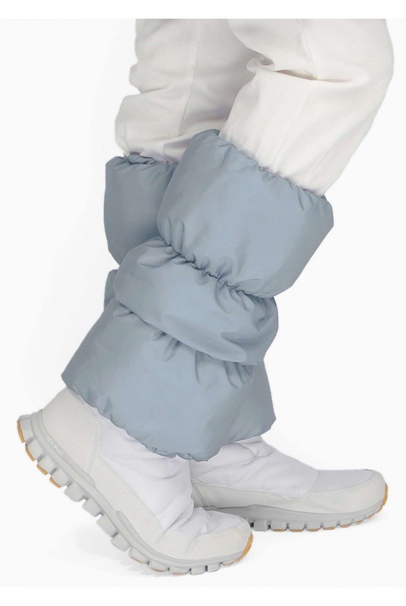 Краги для обуви серые