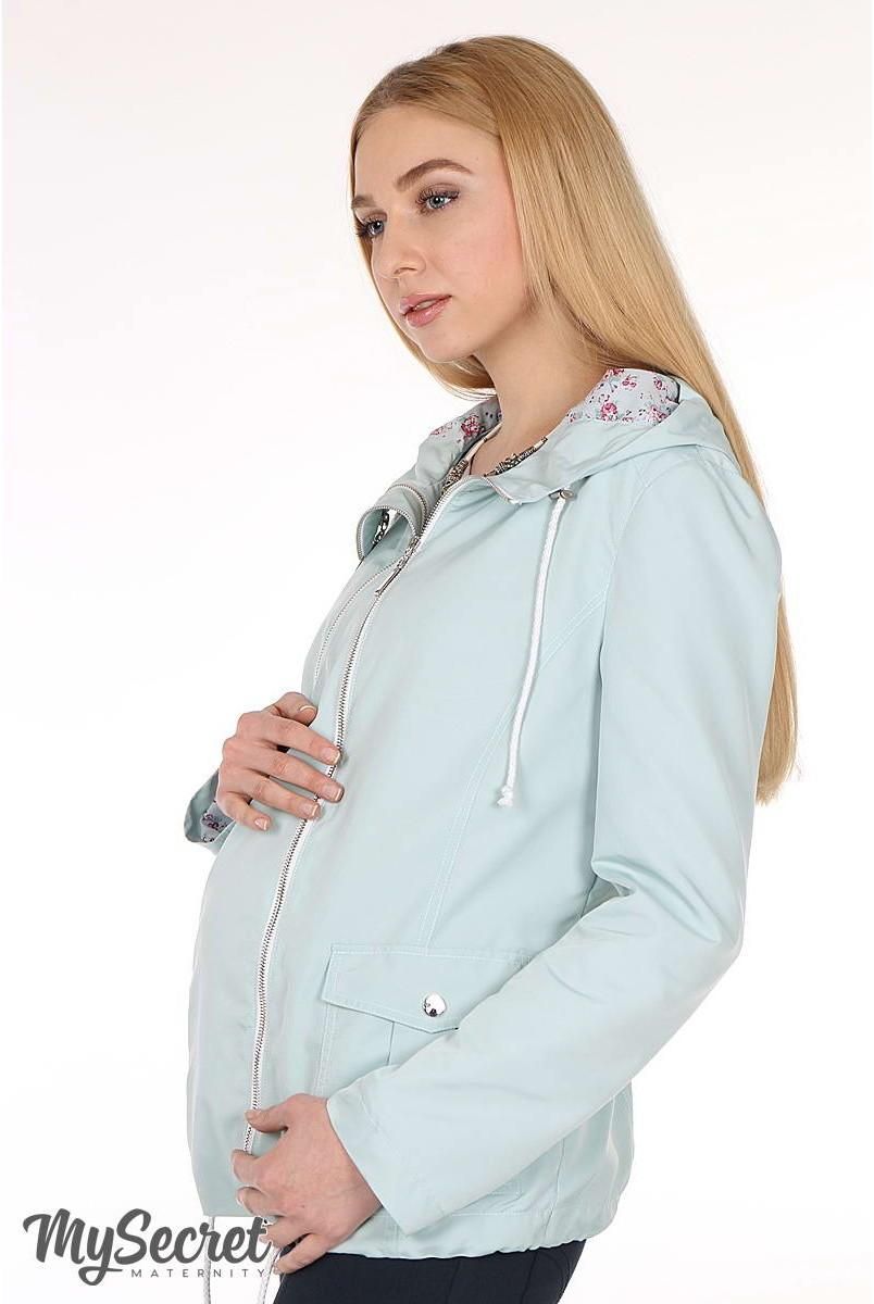 Вітрівка Andrea м'ята для вагітних