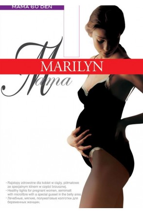 Колготки Marilyn Mama 60 Den черный