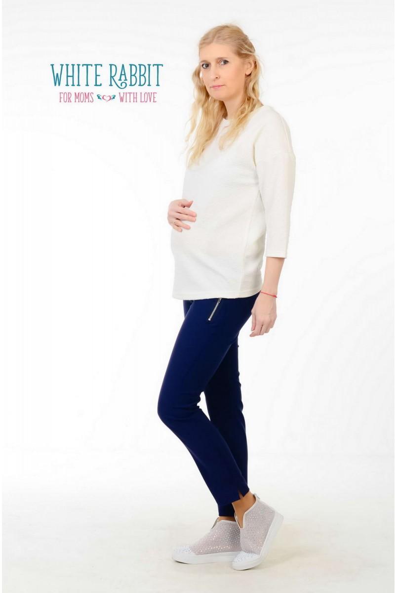 Брюки City Pants синие для беременных