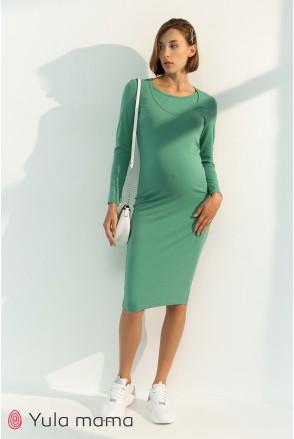 Платье для беременных и кормления Юла мама Lillian DR-31.033 фисташка