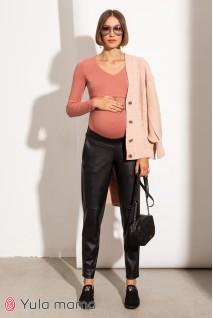 Брюки для беременных Юла мама Tanita TR-31.021 черный