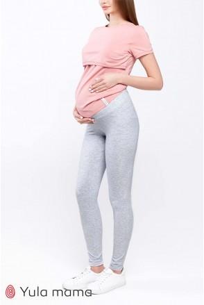 Лосини Kaily new SP - 21.022 сірий меланж для вагітних