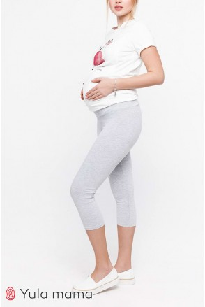 Лосини для вагітних Юла Мама Mia new SP - 21.015 сірий меланж