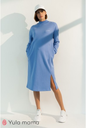 Платье для беременных и кормления Юла мама Maisie DR-31.102 голубой