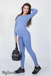 Брюки-джеггинсы Pink джинсово-голубой для беременных
