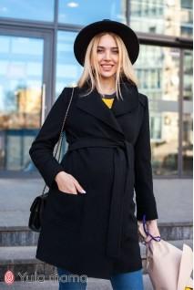 Кардиган Cosmo укороченный черный для беременных